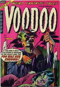 Cover Thumbnail for Voodoo (Farrell, 1952 series) #16