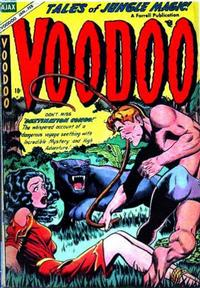 Cover Thumbnail for Voodoo (Farrell, 1952 series) #19