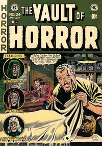 Cover Thumbnail for Vault of Horror (EC, 1950 series) #24