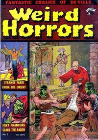 Cover Thumbnail for Weird Horrors (St. John, 1952 series) #3