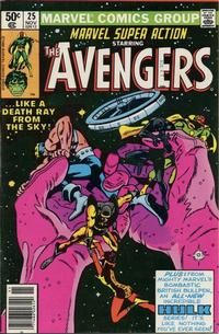 Cover Thumbnail for Marvel Super Action (Marvel, 1977 series) #25 [Newsstand]