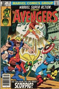 Cover Thumbnail for Marvel Super Action (Marvel, 1977 series) #33