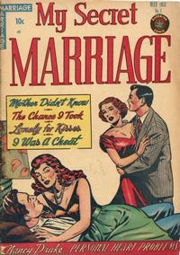 Cover Thumbnail for My Secret Marriage (Superior, 1953 series) #1