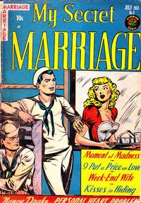 Cover for My Secret Marriage (Superior, 1953 series) #2