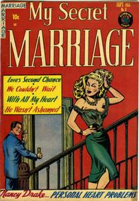 Cover Thumbnail for My Secret Marriage (Superior, 1953 series) #3