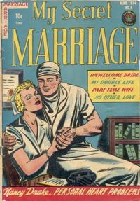 Cover Thumbnail for My Secret Marriage (Superior, 1953 series) #6