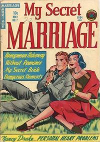 Cover Thumbnail for My Secret Marriage (Superior, 1953 series) #7