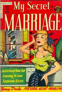 Cover Thumbnail for My Secret Marriage (Superior, 1953 series) #8