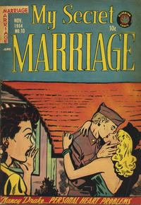 Cover Thumbnail for My Secret Marriage (Superior, 1953 series) #10
