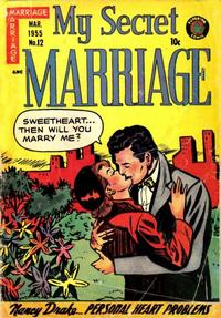 Cover Thumbnail for My Secret Marriage (Superior, 1953 series) #12