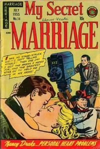 Cover Thumbnail for My Secret Marriage (Superior, 1953 series) #14