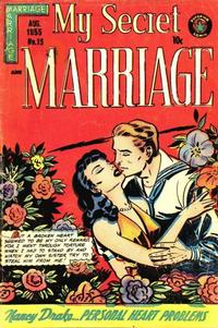 Cover Thumbnail for My Secret Marriage (Superior, 1953 series) #15