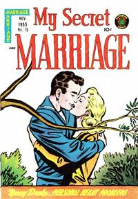Cover Thumbnail for My Secret Marriage (Superior, 1953 series) #18