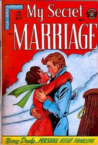 Cover Thumbnail for My Secret Marriage (Superior, 1953 series) #20