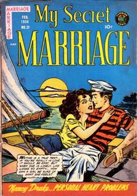 Cover Thumbnail for My Secret Marriage (Superior, 1953 series) #21