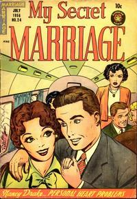 Cover Thumbnail for My Secret Marriage (Superior, 1953 series) #24