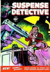 Cover Thumbnail for Suspense Detective (Fawcett, 1952 series) #1