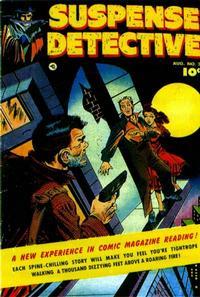 Cover Thumbnail for Suspense Detective (Fawcett, 1952 series) #2
