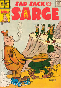 Cover Thumbnail for Sad Sack and the Sarge (Harvey, 1957 series) #1