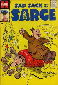 Cover Thumbnail for Sad Sack and the Sarge (Harvey, 1957 series) #2