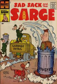 Cover Thumbnail for Sad Sack and the Sarge (Harvey, 1957 series) #13