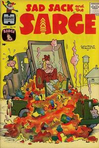 Cover Thumbnail for Sad Sack and the Sarge (Harvey, 1957 series) #19