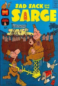 Cover Thumbnail for Sad Sack and the Sarge (Harvey, 1957 series) #50