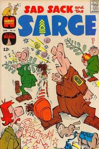 Cover Thumbnail for Sad Sack and the Sarge (Harvey, 1957 series) #55