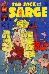 Cover Thumbnail for Sad Sack and the Sarge (Harvey, 1957 series) #56