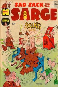 Cover Thumbnail for Sad Sack and the Sarge (Harvey, 1957 series) #57