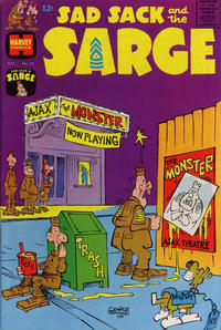 Cover Thumbnail for Sad Sack and the Sarge (Harvey, 1957 series) #70