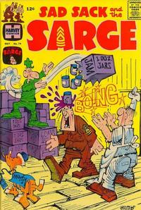 Cover Thumbnail for Sad Sack and the Sarge (Harvey, 1957 series) #74