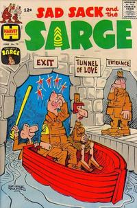 Cover Thumbnail for Sad Sack and the Sarge (Harvey, 1957 series) #75