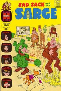 Cover Thumbnail for Sad Sack and the Sarge (Harvey, 1957 series) #91