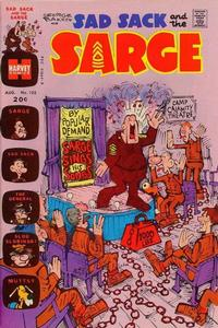Cover Thumbnail for Sad Sack and the Sarge (Harvey, 1957 series) #102