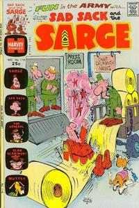 Cover Thumbnail for Sad Sack and the Sarge (Harvey, 1957 series) #110