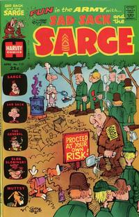 Cover Thumbnail for Sad Sack and the Sarge (Harvey, 1957 series) #112