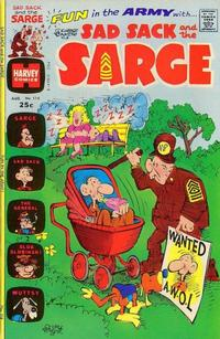 Cover Thumbnail for Sad Sack and the Sarge (Harvey, 1957 series) #114