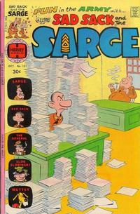 Cover Thumbnail for Sad Sack and the Sarge (Harvey, 1957 series) #121