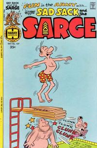 Cover Thumbnail for Sad Sack and the Sarge (Harvey, 1957 series) #127