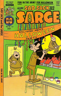 Cover Thumbnail for Sad Sack and the Sarge (Harvey, 1957 series) #128