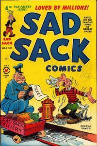 Cover Thumbnail for Sad Sack Comics (Harvey, 1949 series) #v1#6