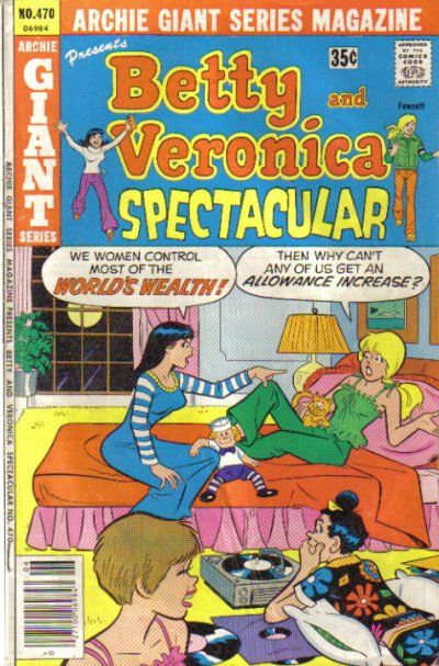 Cover for Archie Giant Series Magazine (Archie, 1954 series) #470