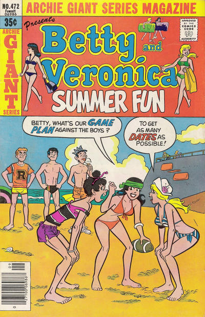 Cover for Archie Giant Series Magazine (Archie, 1954 series) #472