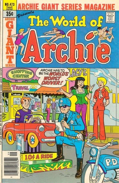 Cover for Archie Giant Series Magazine (Archie, 1954 series) #473