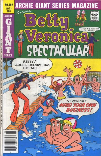 Cover for Archie Giant Series Magazine (Archie, 1954 series) #482