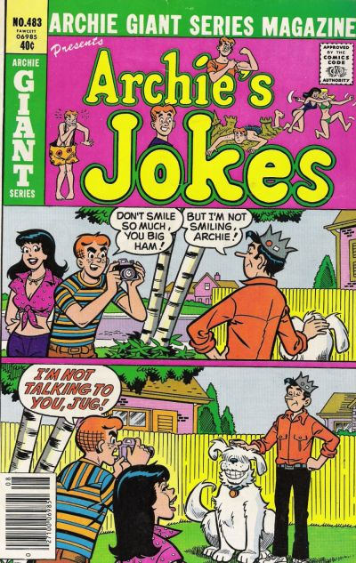 Cover for Archie Giant Series Magazine (Archie, 1954 series) #483