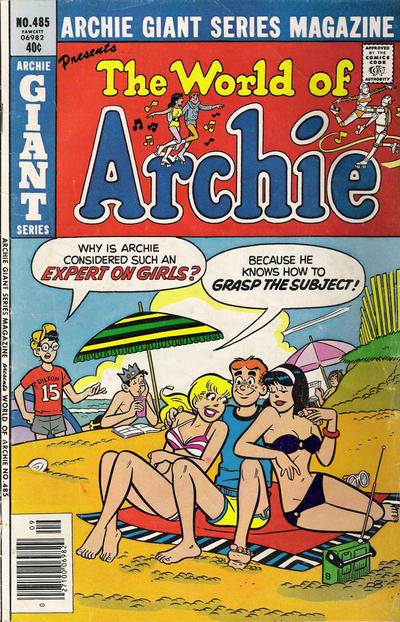 Cover for Archie Giant Series Magazine (Archie, 1954 series) #485