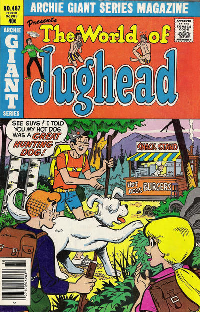 Cover for Archie Giant Series Magazine (Archie, 1954 series) #487