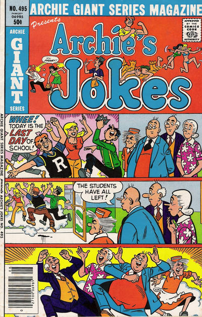 Cover for Archie Giant Series Magazine (Archie, 1954 series) #495